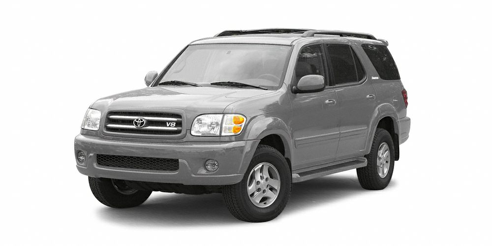 2002 Toyota Sequoia SR5 Miles 190888Color Thunder Gray Metallic Stock M5818A VIN 5TDZT34A82S