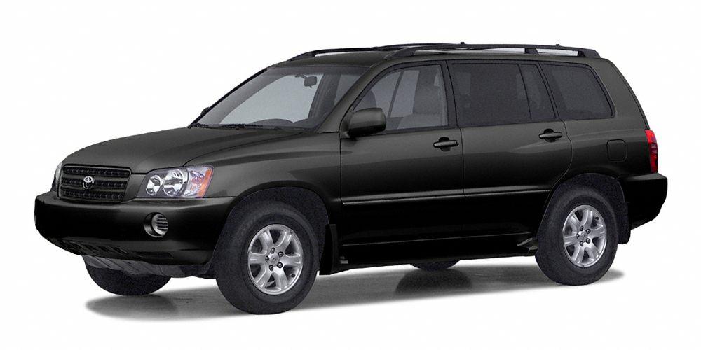 2002 Toyota Highlander Limited Snatch a bargain on this 2002 Toyota Highlander Limited before its