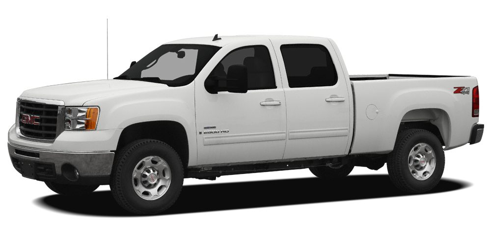 2009 GMC Sierra 2500HD  6-Speed Automatic HD Electronic with Overdrive 4WD CARFAX One-Owner Mi