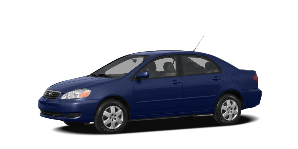 2008 Toyota Corolla LE INDIGO INK PEARL exterior and FB11 interior LE trim Toyota Certified LOW