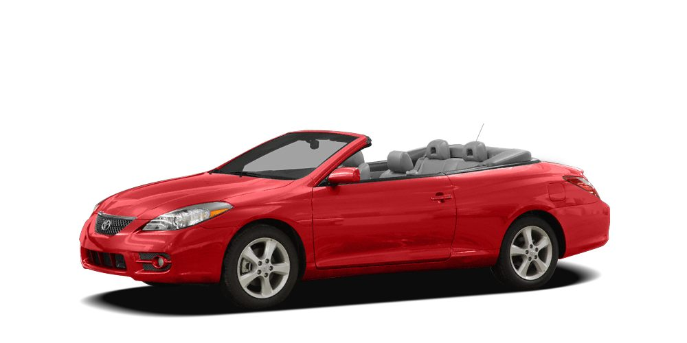 2008 Toyota Camry Solara SLE SLE trim Heated Leather Seats Multi-CD Changer iPodMP3 Input Alu