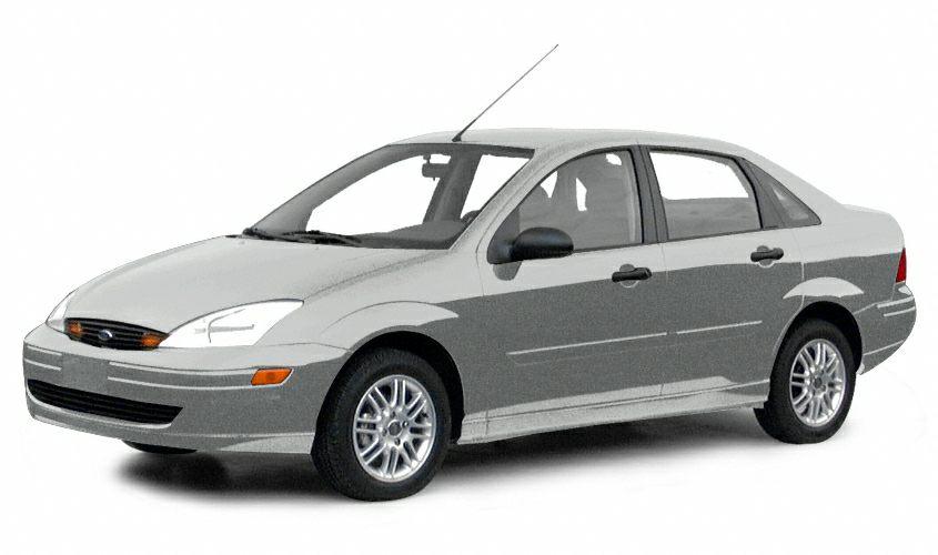 2001 Ford Focus SE Miles 111861Color Silver Stock ZT377181 VIN 1FAFP34P11W377181