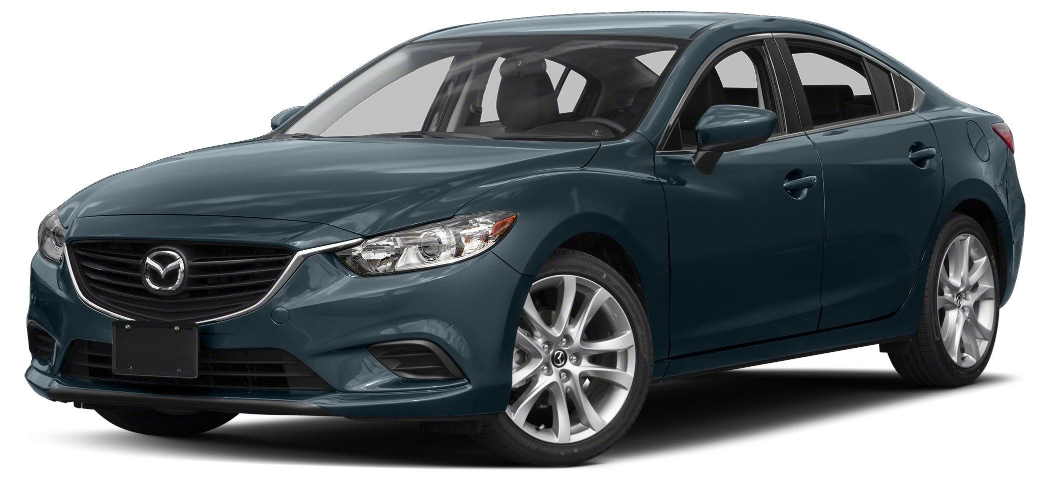 2016 Mazda MAZDA6 i Sport Miles 0Color Blue Reflex Stock C8876A VIN JM1GJ1U52G1409872