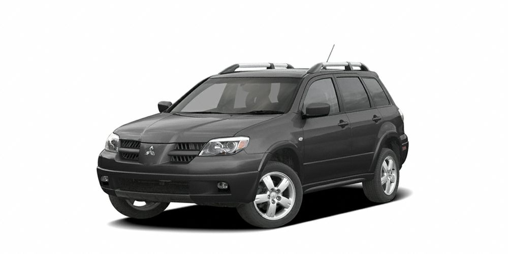 2005 Mitsubishi Outlander LS AFFORDABLE OUTLANDER RUNS WELL SHOWS GREAT GREAT CONDITION WELL K