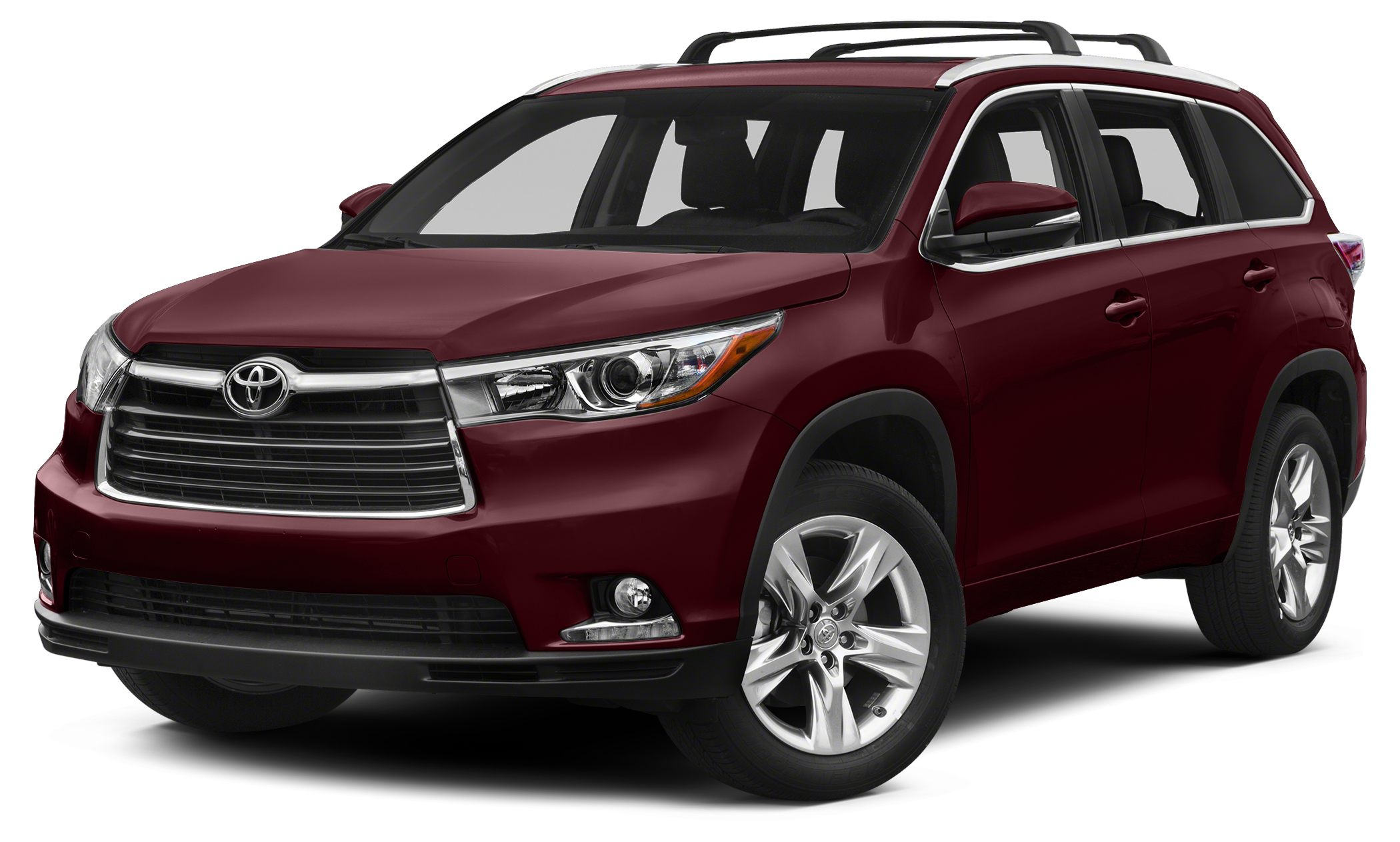 2014 Toyota Highlander XLE New Price CARFAX One-Owner Clean CARFAX Ooh La La Rouge Mica 2014 To