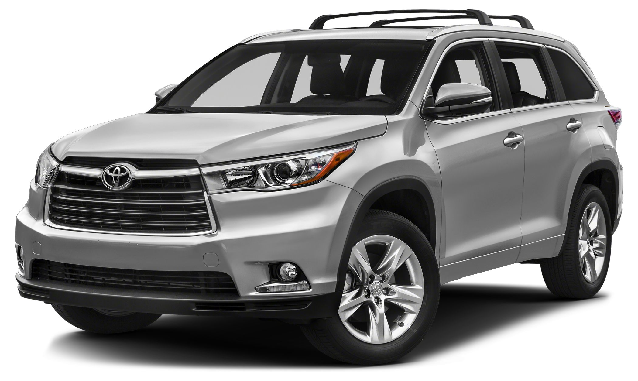 2015 Toyota Highlander Limited FUEL EFFICIENT 24 MPG Hwy18 MPG City CARFAX 1-Owner SILVER SKY M