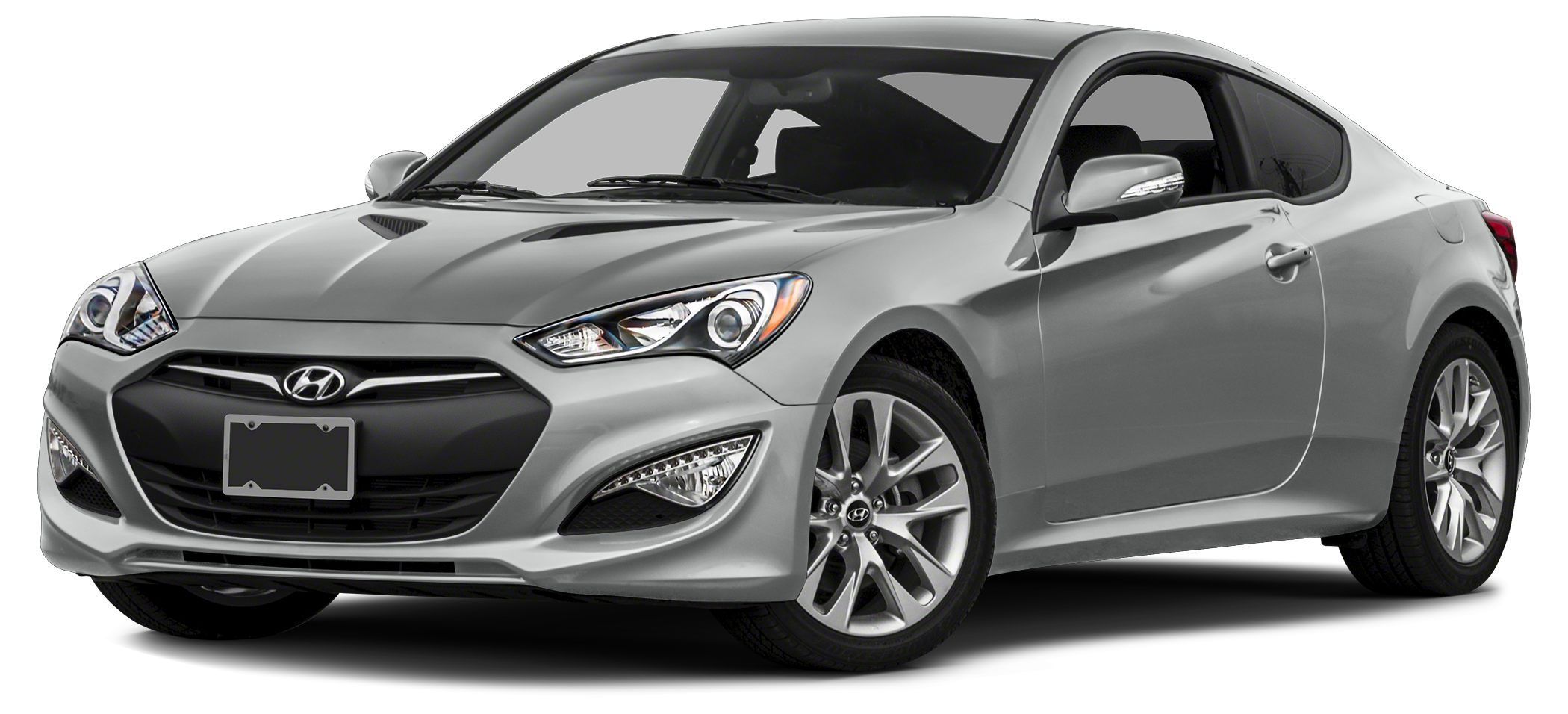 2015 Hyundai Genesis Coupe 38 Miles 1550Color Santiago Silver Stock M6270 VIN KMHHU6KJ8FU12