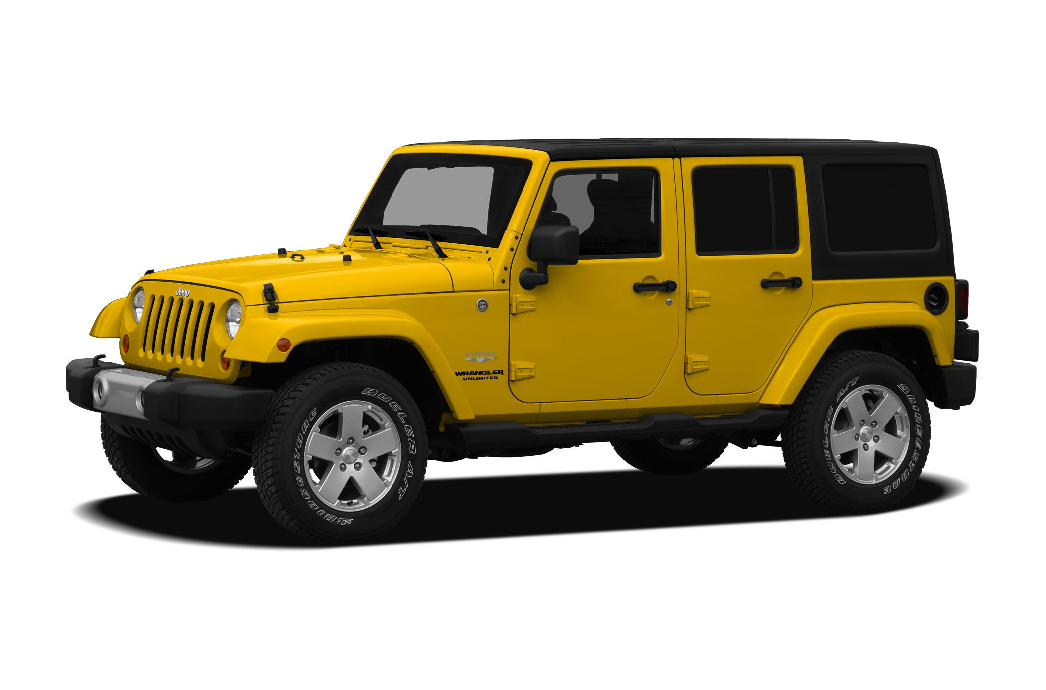 2011 Jeep Wrangler Unlimited Sahara Wrangler Unlimited Sahara and Black wCloth Bucket Seats Move