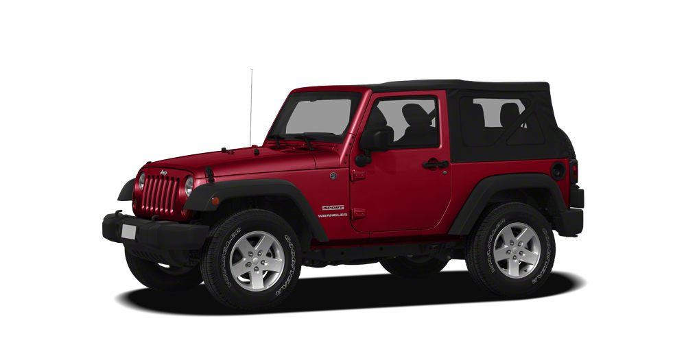 2011 Jeep Wrangler Sport 6 spd manual trans pw pl heated side mirrors MP3CD tilt cruise Al