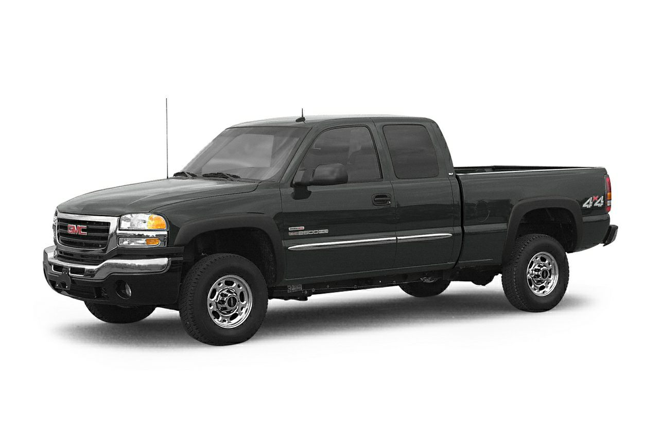2003 GMC Sierra 2500HD  Vortec 60L V8 SFI and 4WD Perfect Color Combination Switch to David Sta