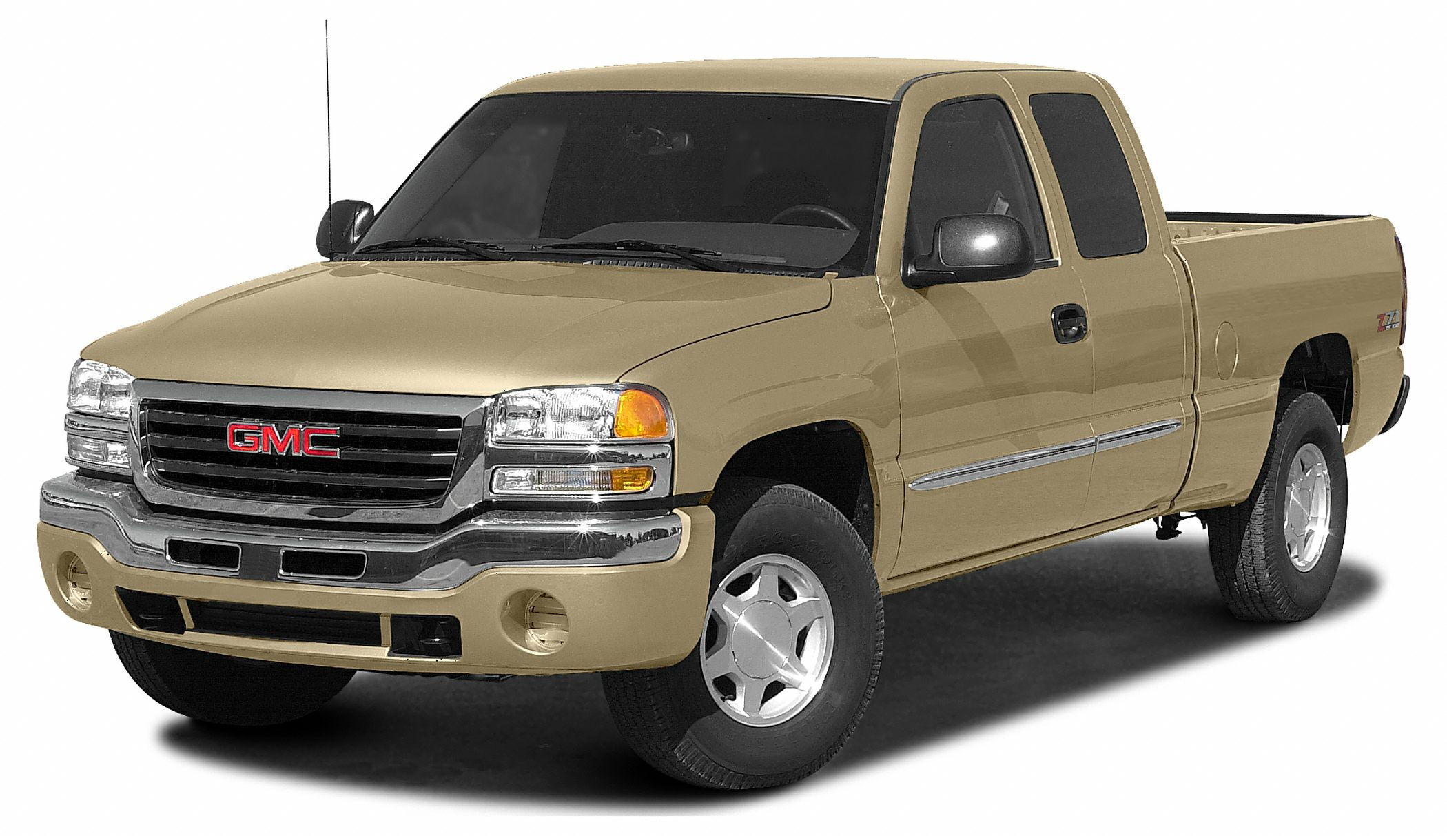 2003 GMC Sierra 1500 SLE Vortec 53L V8 SFI 4-Speed Automatic with Overdrive Miles 133160Color