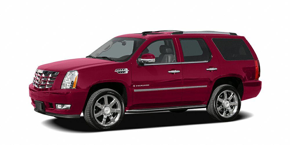 2007 Cadillac Escalade Base Miles 78622Color Red Stock 346470A VIN 1GYEC638X7R421614