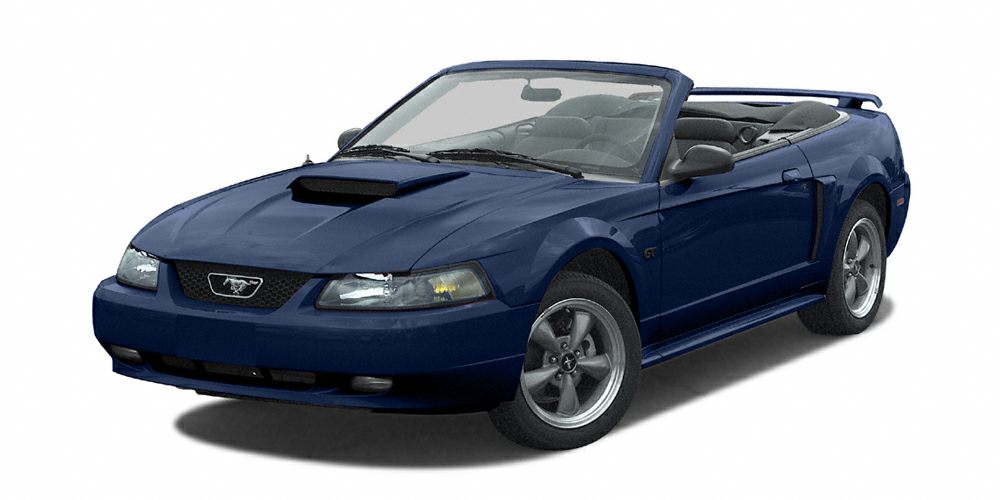 2002 Ford Mustang GT Deluxe Other features include Power locks Power windows Convertible roof -