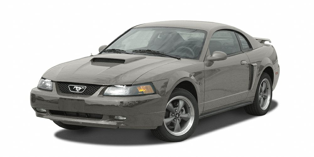 2002 Ford Mustang V6 Miles 135751Color Mineral Gray Metallic Stock 013812A VIN 1FAFP40432F13