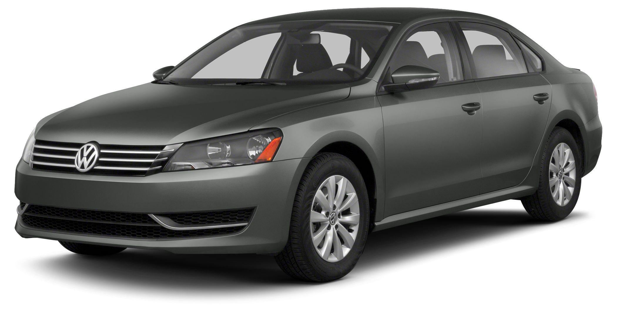 2013 Volkswagen Passat 25 SE CARFAX One-Owner Gray 2013 Volkswagen Passat 25 SE wSunroofNav F