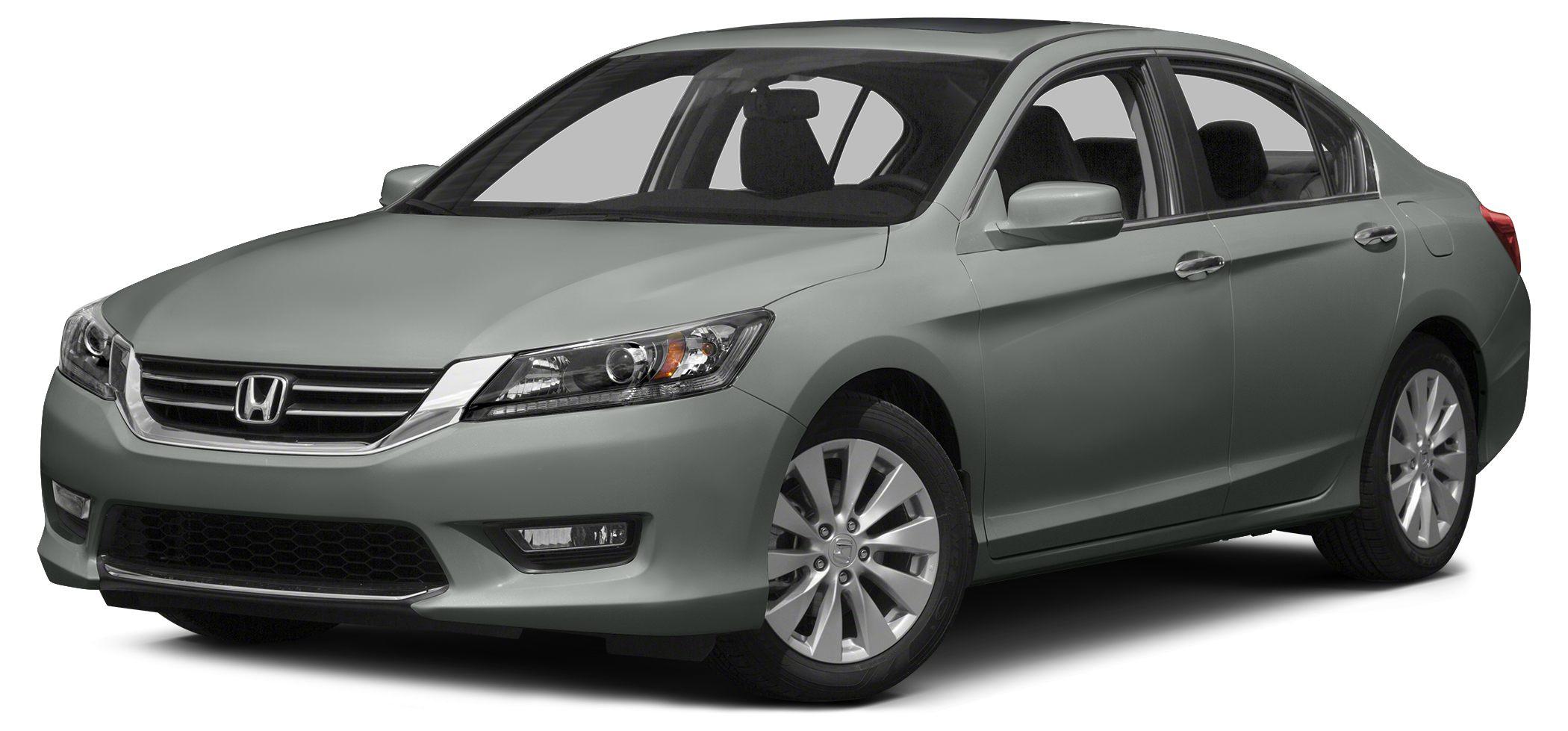 2013 Honda Accord EX-L V6 CARFAX 1-Owner EX-L trim FUEL EFFICIENT 34 MPG Hwy21 MPG City Sunroo