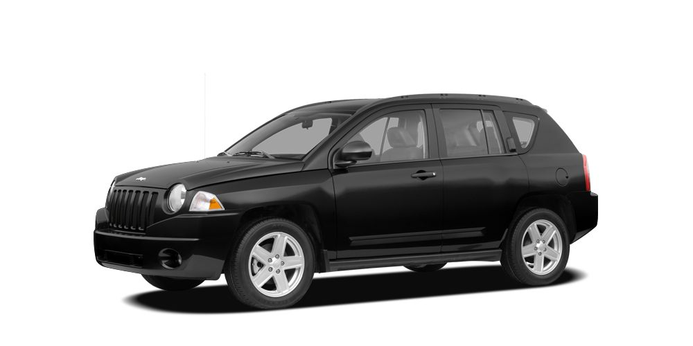 2007 Jeep Compass Sport black on black beauty with extra low miles 10 MINUTE CREDIT CHECK BAD C