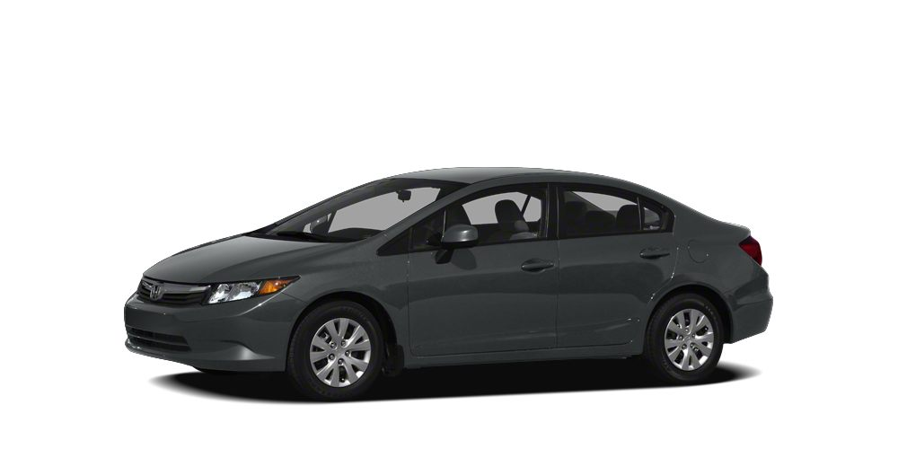 2012 Honda Civic LX Miles 126671Color Gray Stock K17589A VIN 19XFB2F58CE362088