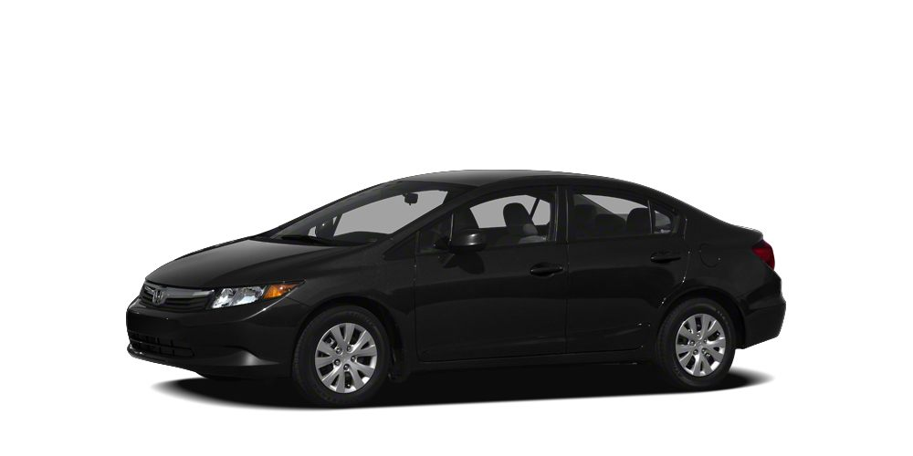 2012 Honda Civic  Color Black Stock 803A VIN 2HGFB2F83CH316703