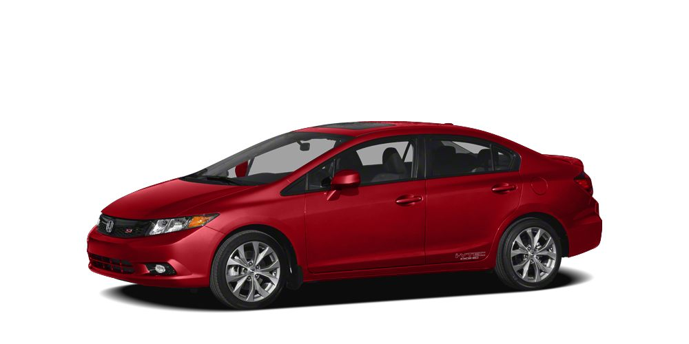 2012 Honda Civic Si w Navigation Si trim Rallye Red exterior and Black interior Excellent Condi