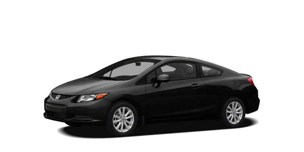 2012 Honda Civic LX Crystal Black Pearl exterior and Gray interior LX trim WAS 11900 200 bel