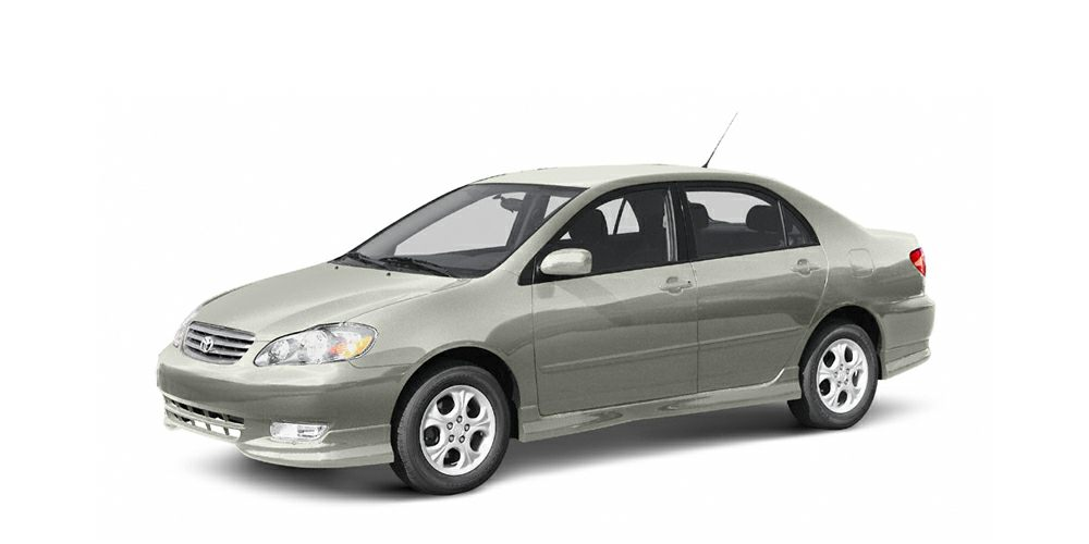 2004 Toyota Corolla S Grab a deal on this 2004 Toyota Corolla S before its too late Spacious yet