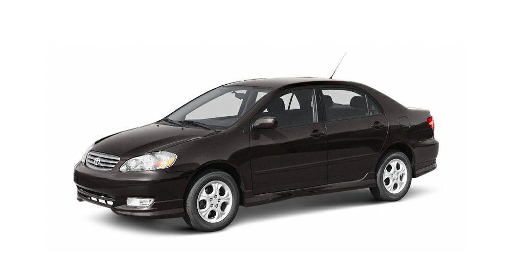 2004 Toyota Corolla LE BLACK SAND PEARL exterior and FA11 interior REDUCED FROM 6995 FUEL EFF