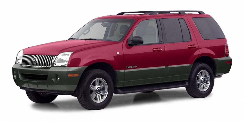 2002 Mercury Mountaineer Base Miles 168932Color Red Stock FL523105A VIN 4M2ZU86E72UJ20137