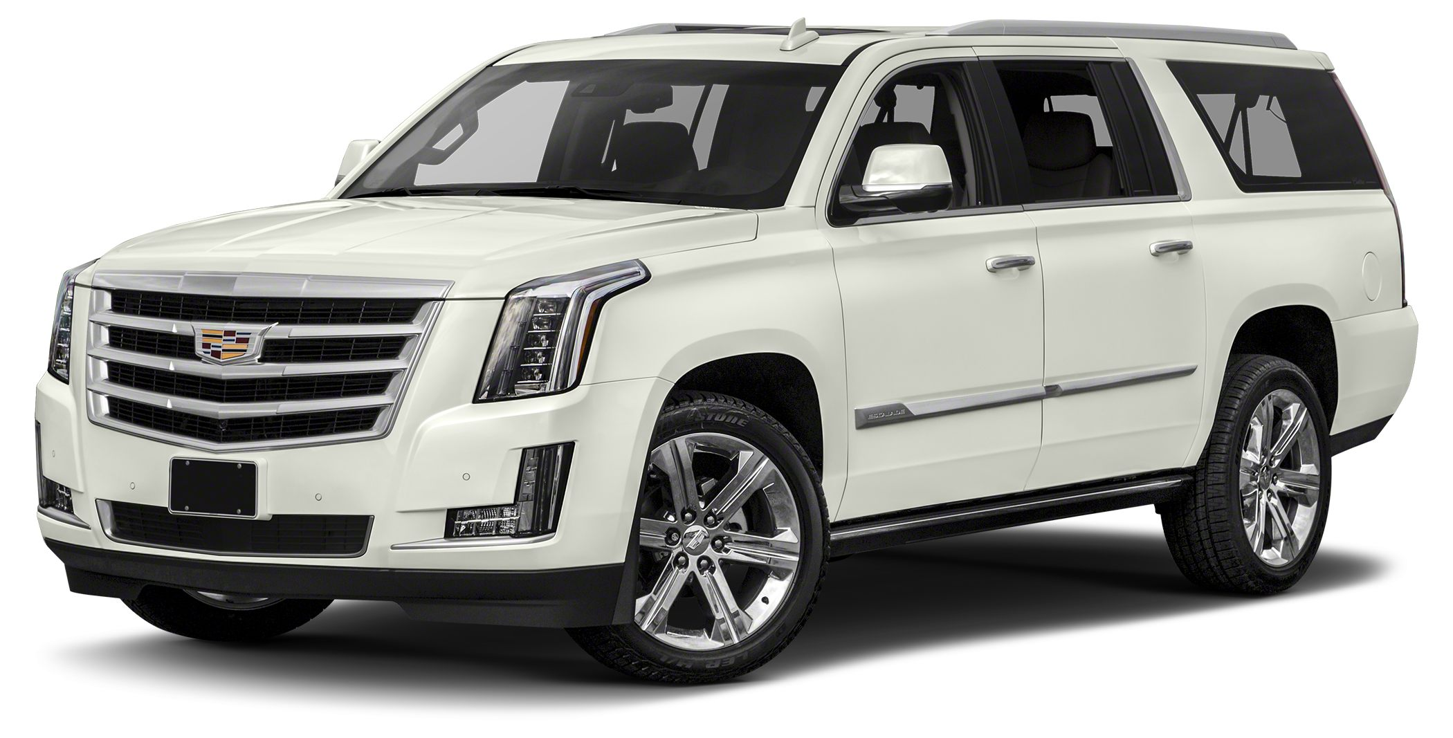 2018 Cadillac Escalade ESV Premium Luxury Miles 5Color Crystal White Stock 180221 VIN 1GYS3J