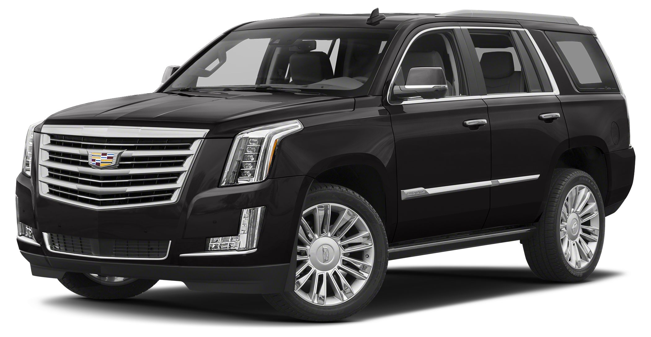 2017 Cadillac Escalade Platinum The well-recognized Escalade has been among the Kings of the SUV f