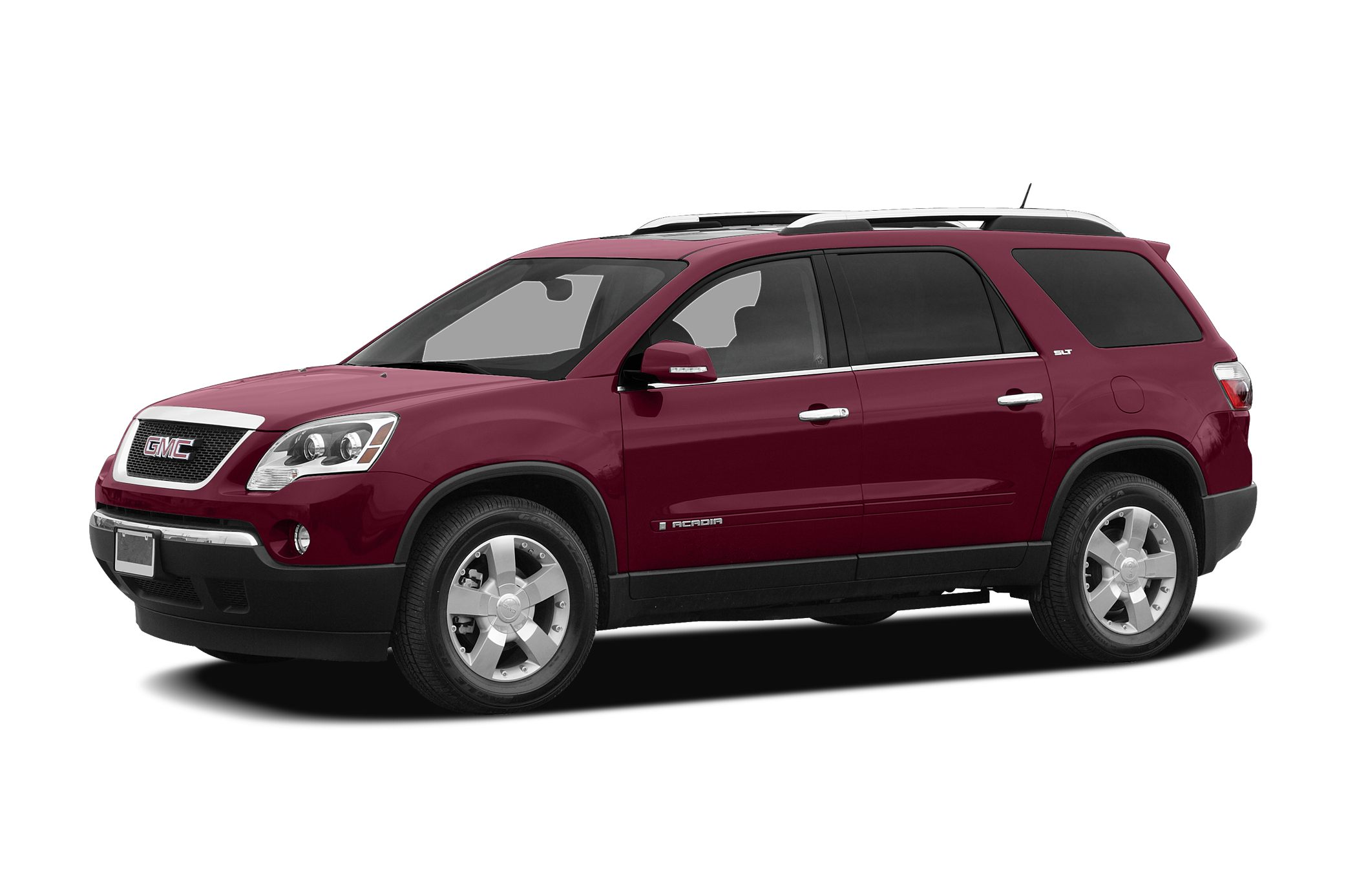 2008 GMC Acadia SLT-2 Miles 65538Color Red Stock 19124 VIN 1GKEV23788J292762
