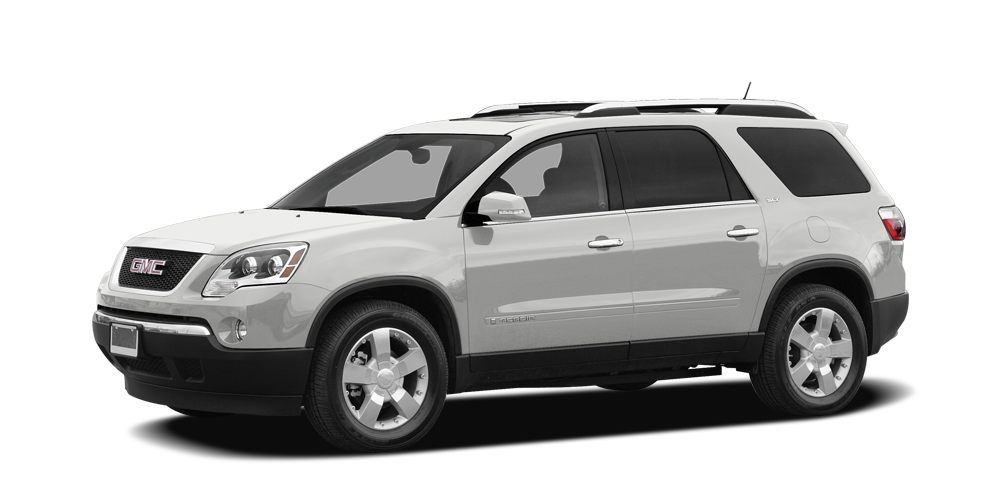 2008 GMC Acadia SLE-1 FUEL EFFICIENT 24 MPG Hwy16 MPG City Third Row Seat Hitch Onboard Commun