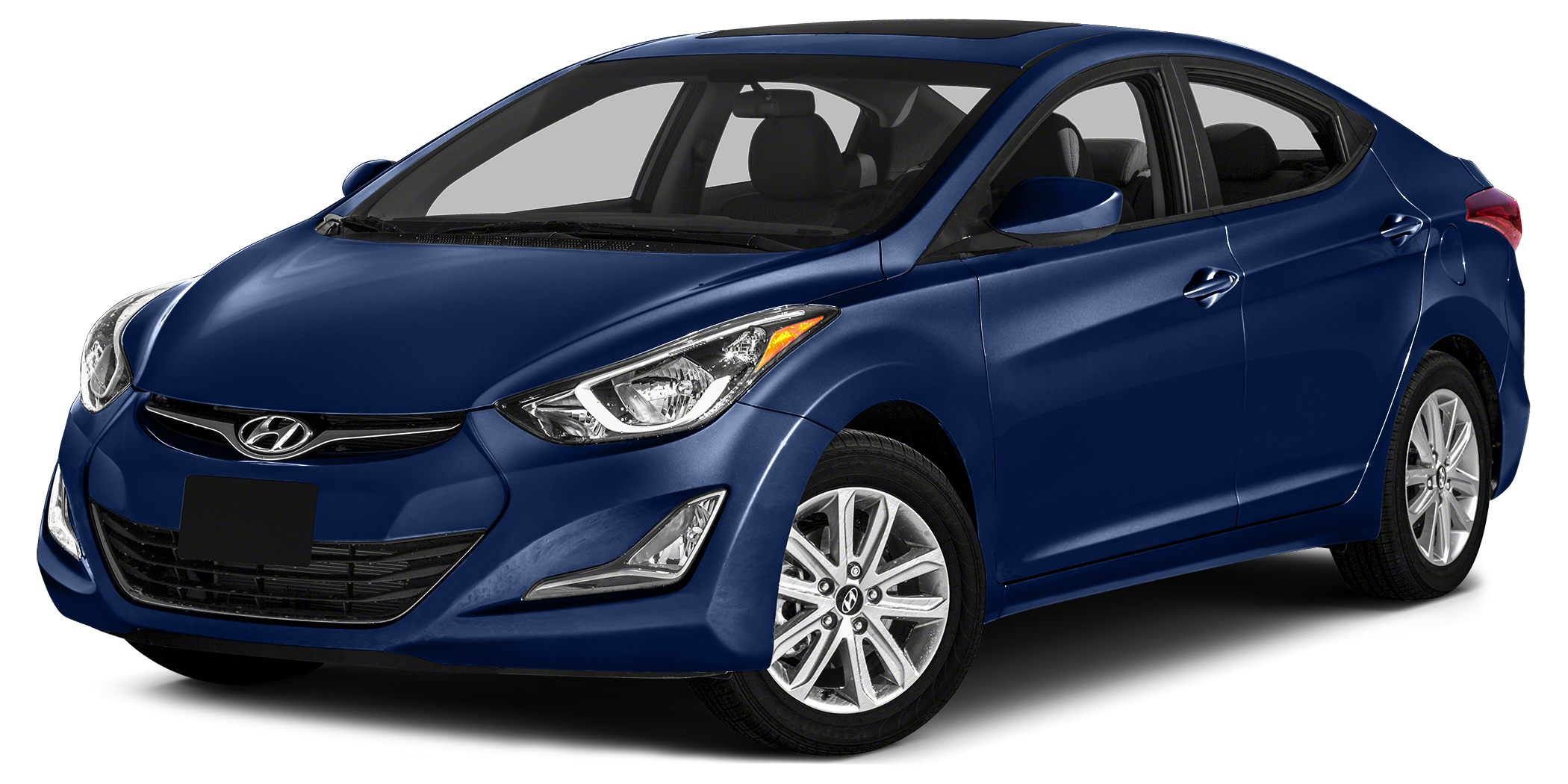 2014 Hyundai Elantra SE Color Indigo Blue Pearl Stock SB17013B VIN 5NPDH4AE7EH502431