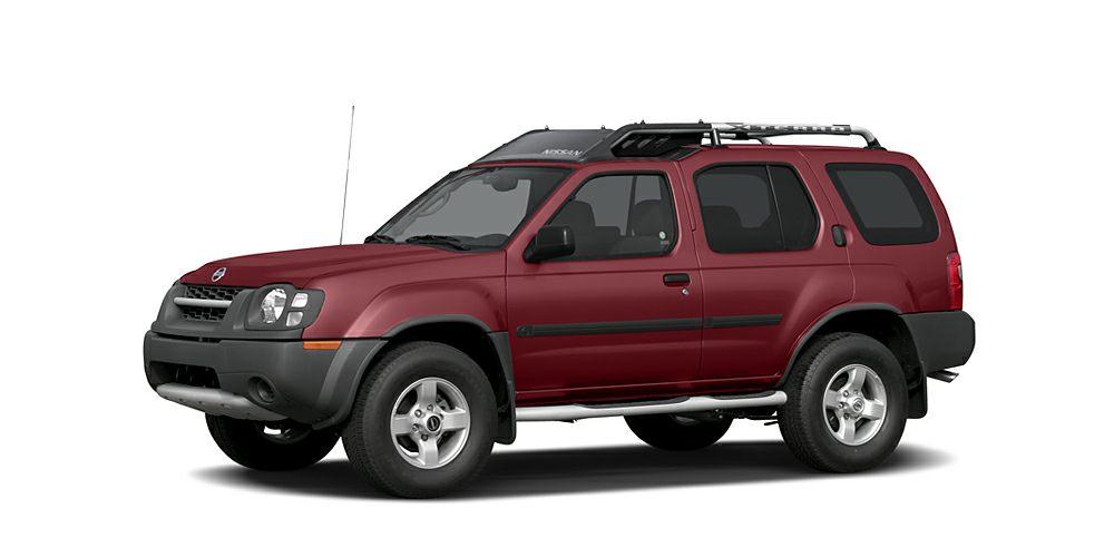 2004 Nissan Xterra XE-V6 Miles 125168Color Red Stock K14345A VIN 5N1ED28T84C605601