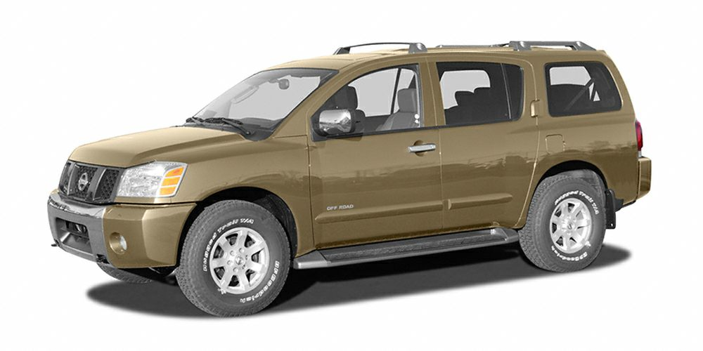 2004 Nissan Armada LE V8 FRESH TRADE WITH 7 PASSENGER SEATING FULL POWER AND MORE 5 DAY 300 MIL
