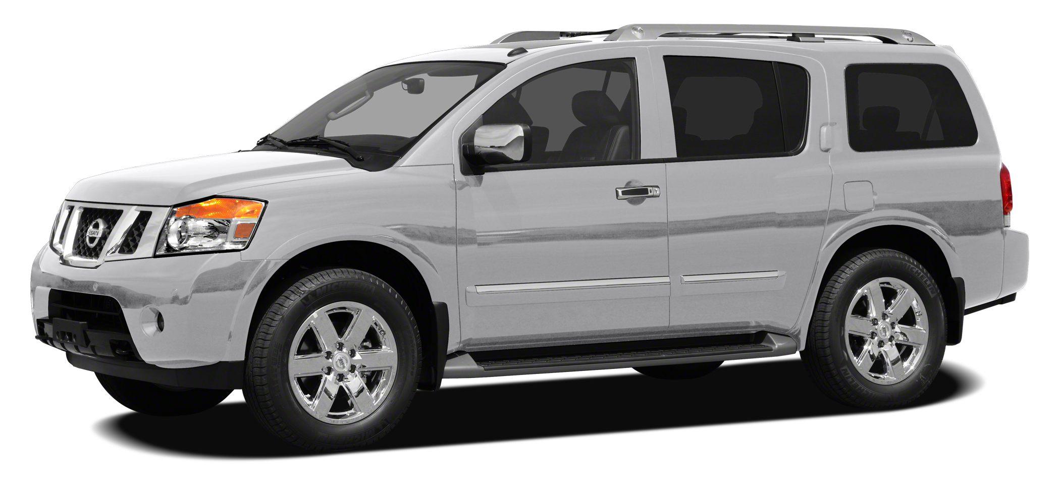 2010 Nissan Armada Platinum Miles 116303Color Silver Lightning Stock AN605341 VIN 5N1BA0NFXA