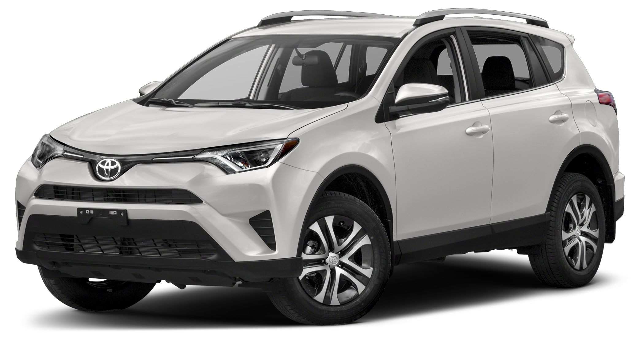 2018 Toyota RAV4 LE Miles 10Color Super White Stock TT5174 VIN 2T3ZFREV0JW460058
