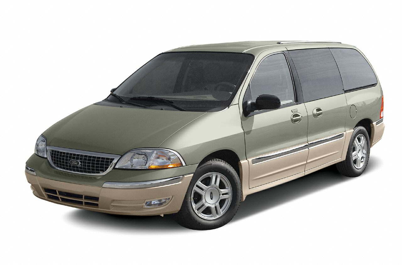 2003 Ford Windstar SEL Miles 165874Color Blue Stock 0345815 VIN 2FMDA534X3BB45815