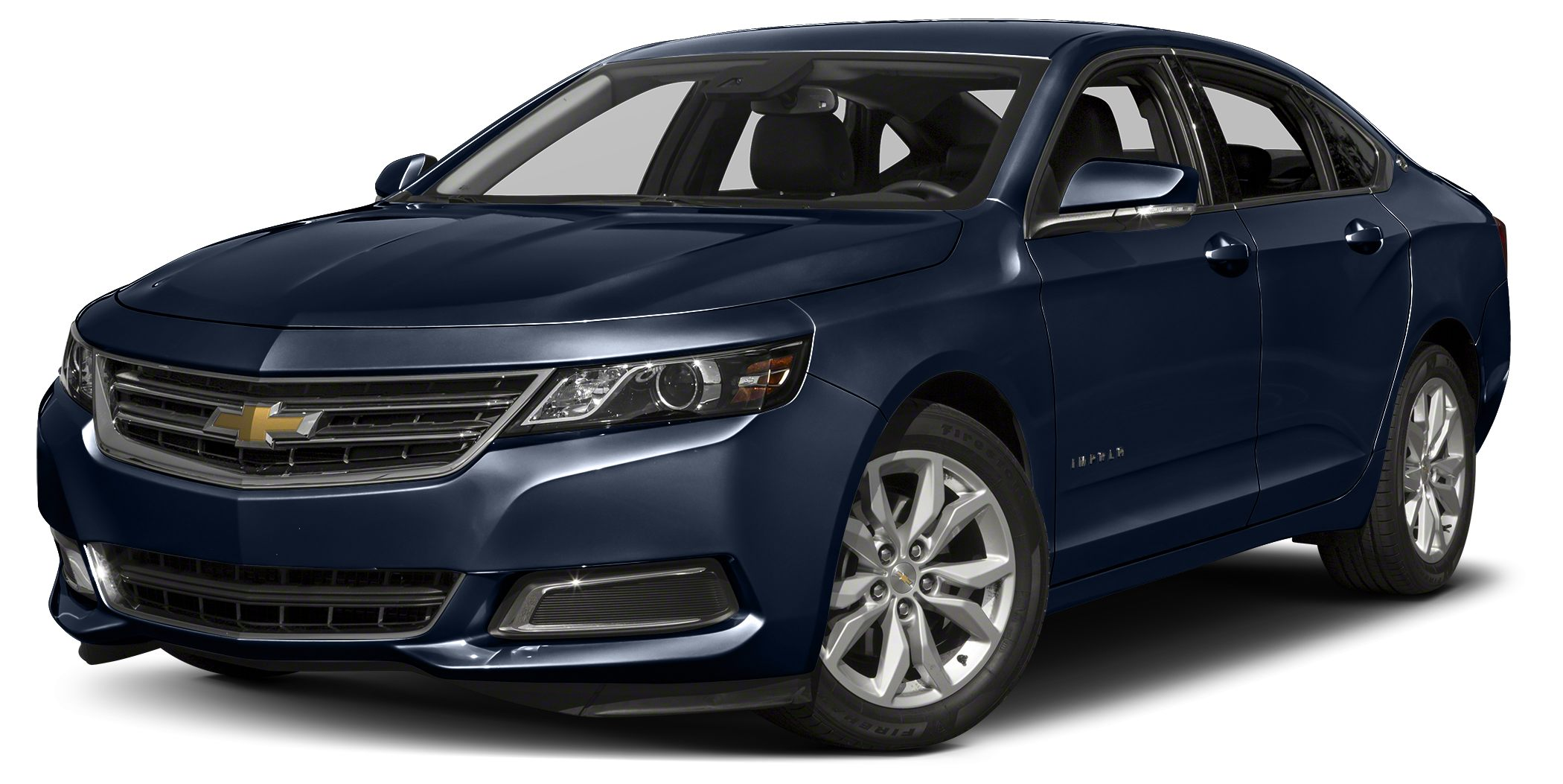 2016 Chevrolet Impala LT w2LT Sizeable room overhead and underfoot Loads of legroom and headroom