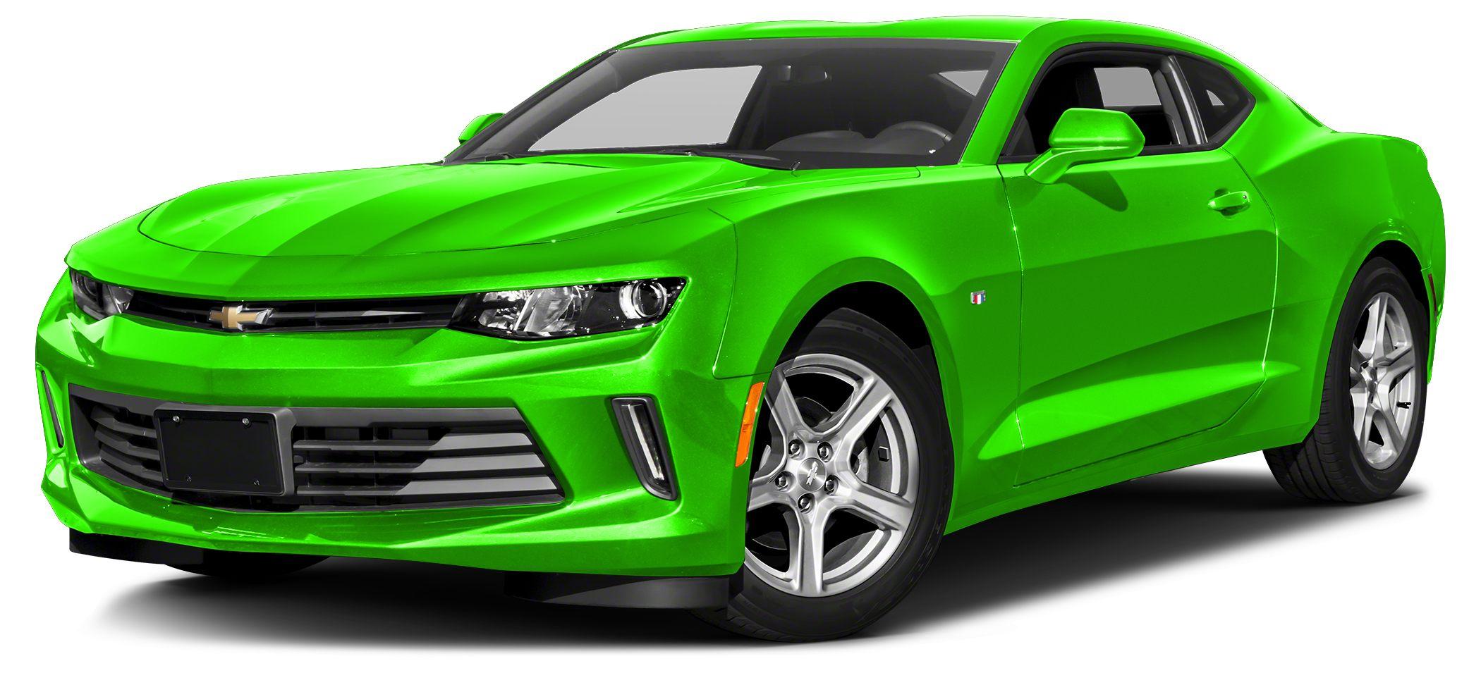 2017 Chevrolet Camaro LT w1LT Miles 1813Color Green Stock 185449A VIN 1G1FB1RS2H0201899