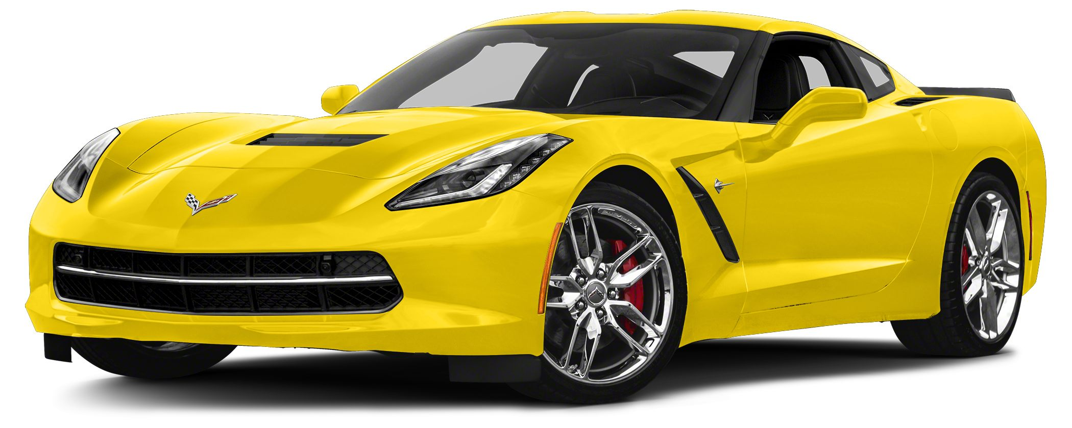 2016 Chevrolet Corvette Stingray Z51 Miles 2400Color Yellow Stock B4242 VIN 1G1YJ2D79G510294
