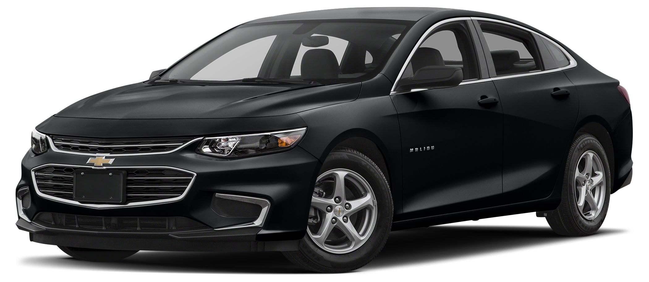 2018 Chevrolet Malibu LS w1LS Prior dealer loaner vehicle Jet Black Mosaic Black Metallic 2018