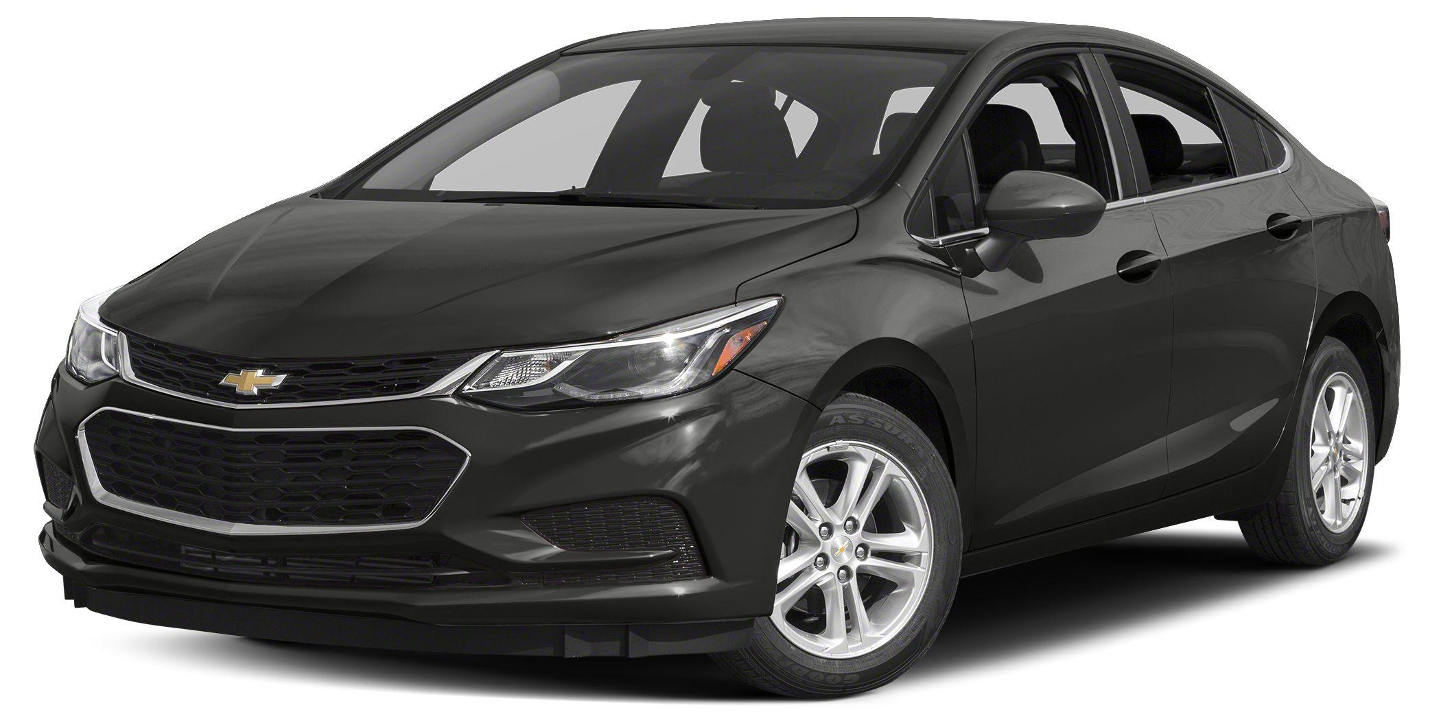 2016 Chevrolet Cruze LT Sunroof Heated Seats Alloy Wheels SUNROOF PACKAGE Turbo Onboard Commu