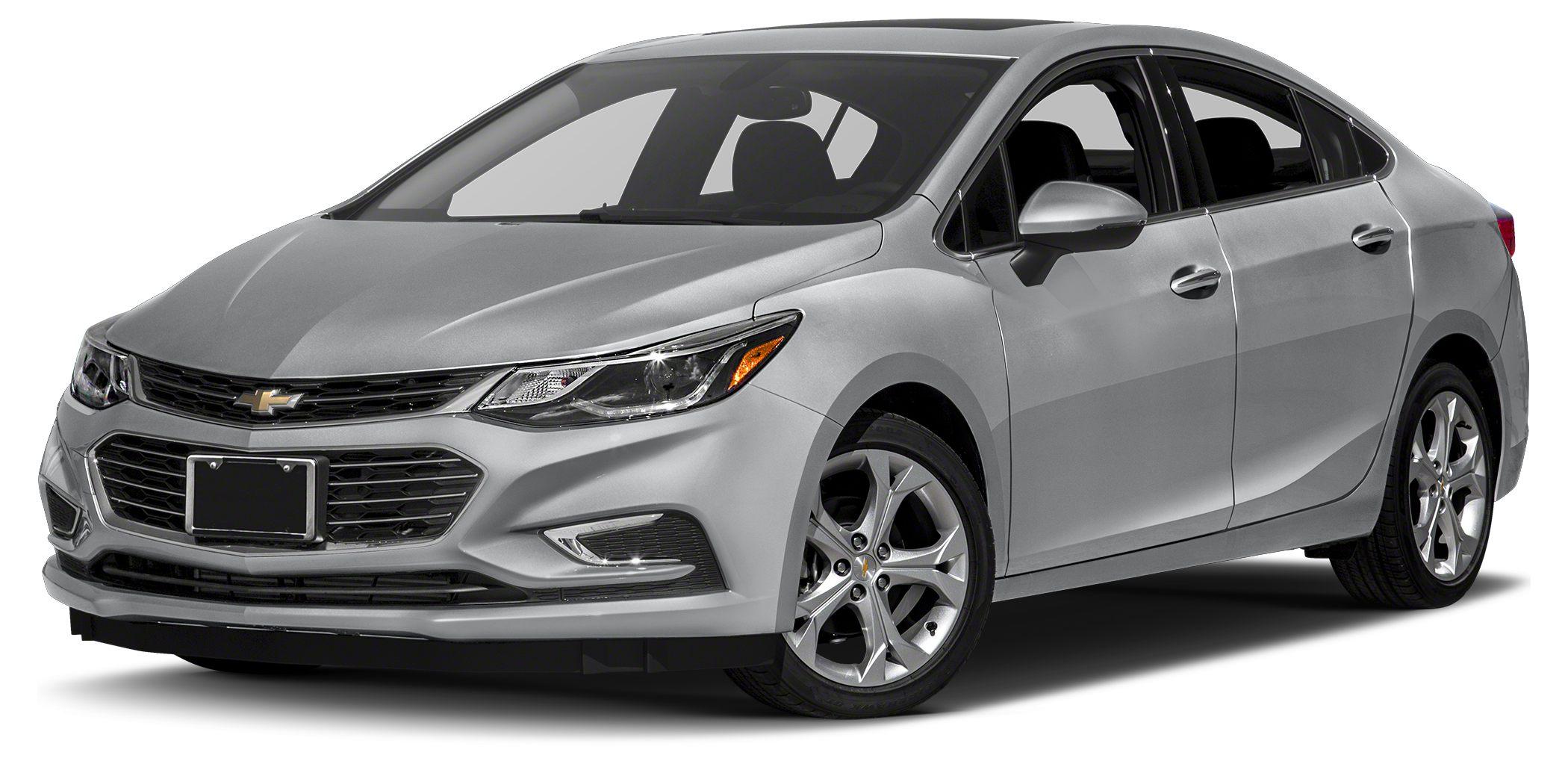 2016 Chevrolet Cruze LT Moonroof Heated Seats Aluminum Wheels SUNROOF PACKAGE Turbo Charged En