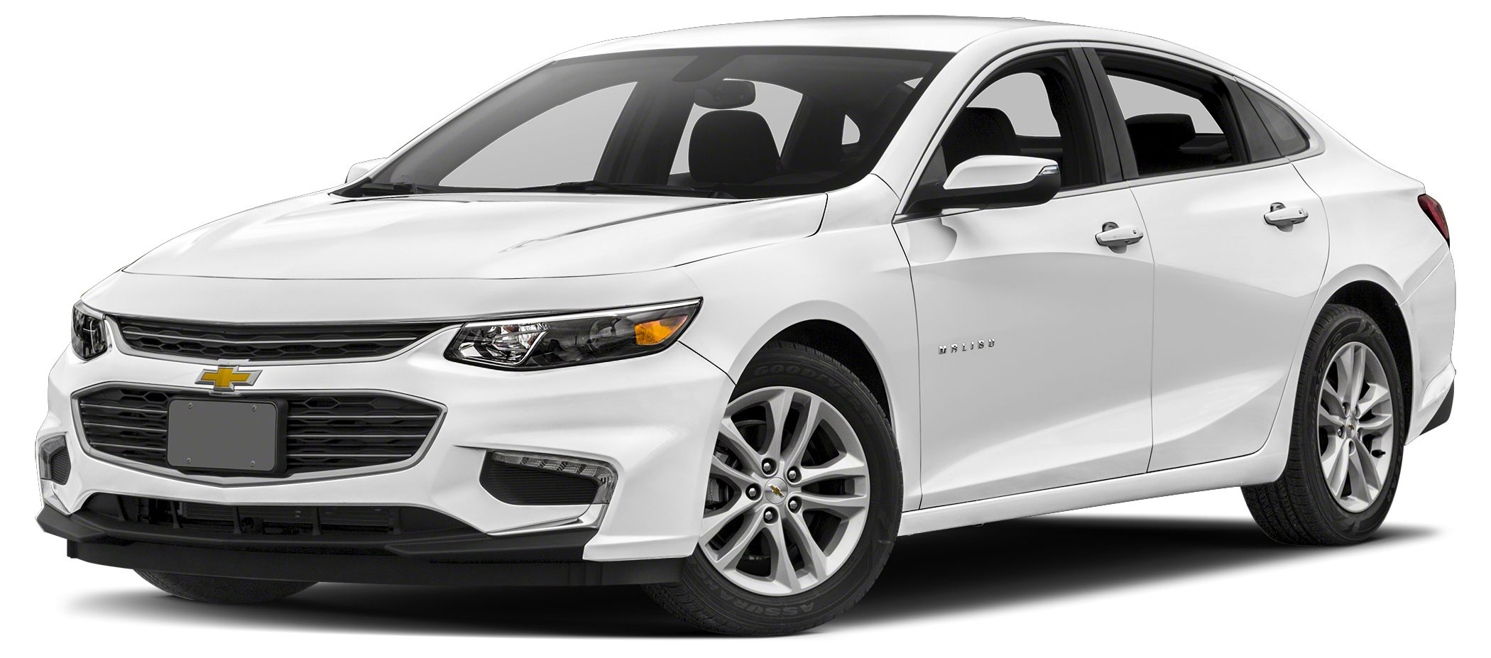 2016 Chevrolet Malibu LT w1LT LT trim SUMMIT WHITE exterior and JET BLACK interior FUEL EFFICIE