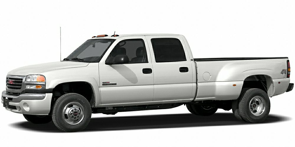 2006 GMC Sierra 3500 SLT Duramax 66L V8 Turbodiesel 4WD Miles 328316Color White Stock CU12