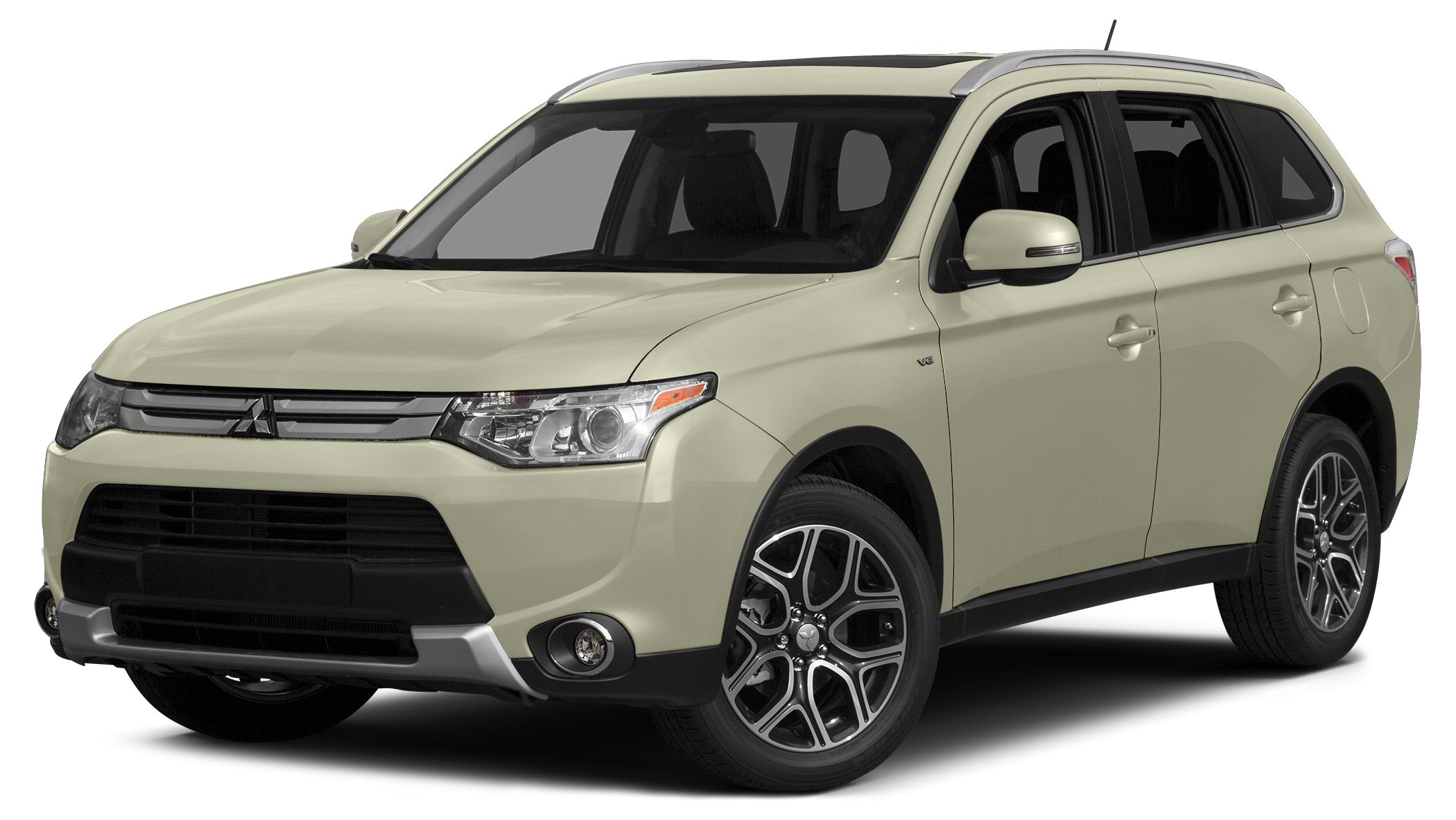 2015 Mitsubishi Outlander ES Mp3 and traction control will make driving this 2015 Mitsubishi Outlan