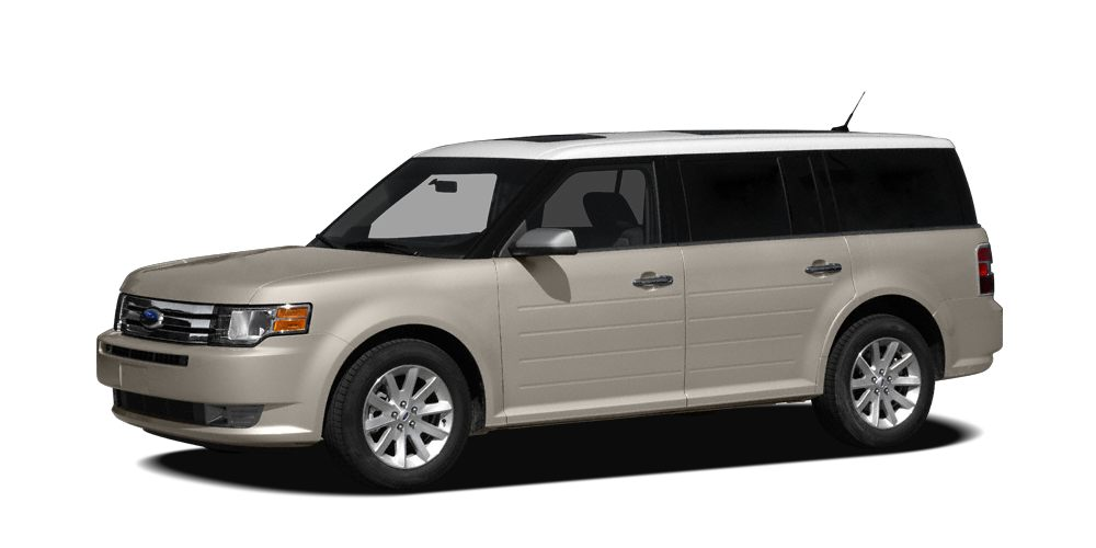 2011 Ford Flex Limited Miles 32504Color White Suede Stock LH0130A VIN 2FMGK5DCXBBD10695