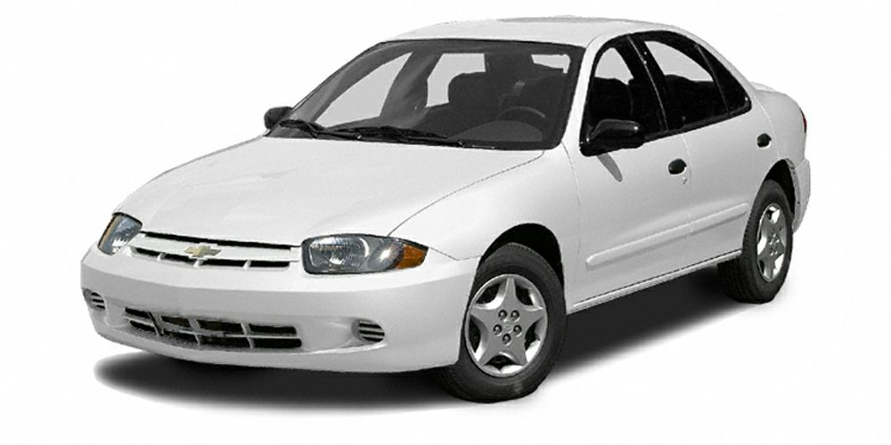 2003 Chevrolet Cavalier Base Miles 165312Color White Stock U2333A VIN 1G1JC52F937251128