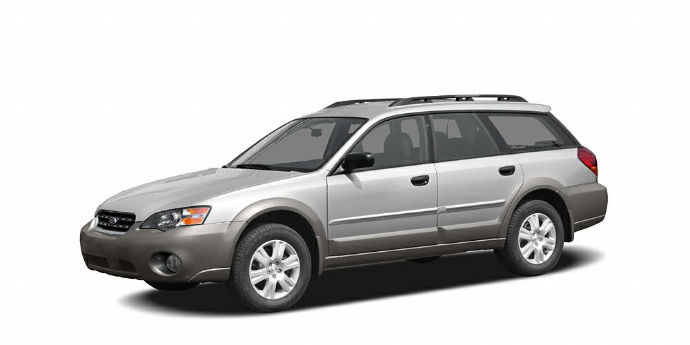 2005 Subaru Outback 25i Miles 131169Color Brilliant Silver  Granite Gray Opal Metallic Stock